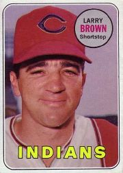 1969 Topps Baseball Cards      503     Larry Brown
