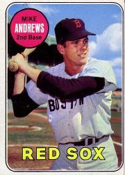 1969 Topps Baseball Cards      052      Mike Andrews