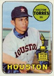 1969 Topps Baseball Cards      526     Hector Torres RC