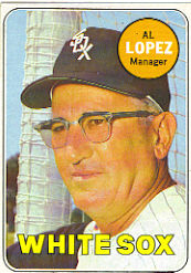 1969 Topps Baseball Cards      527     Al Lopez MG