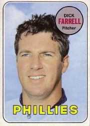 1969 Topps Baseball Cards      531     Dick Farrell