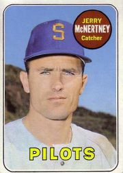 1969 Topps Baseball Cards      534     Jerry McNertney