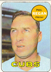 1969 Topps Baseball Cards      535     Phil Regan