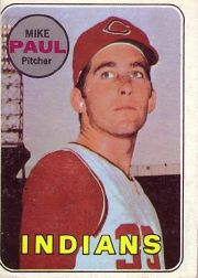 1969 Topps Baseball Cards      537     Mike Paul RC