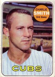 1969 Topps Baseball Cards      538     Charlie Smith