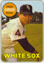 1969 Topps Baseball Cards      054      Cisco Carlos