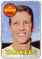 1969 Topps Baseball Cards      541     Joe Verbanic