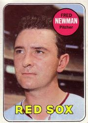 1969 Topps Baseball Cards      543     Fred Newman