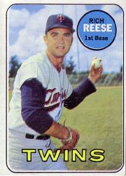 1969 Topps Baseball Cards      056      Rich Reese