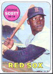 1969 Topps Baseball Cards      574     George Scott