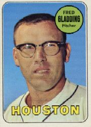 1969 Topps Baseball Cards      058      Fred Gladding