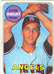 1969 Topps Baseball Cards      583     Clyde Wright RC