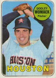 1969 Topps Baseball Cards      594     Dooley Womack