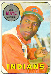 1969 Topps Baseball Cards      595     Lee Maye