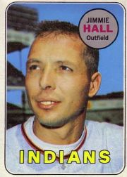 1969 Topps Baseball Cards      061      Jimmie Hall
