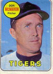 1969 Topps Baseball Cards      616     Don McMahon