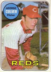 1969 Topps Baseball Cards      635     George Culver