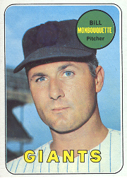 1969 Topps Baseball Cards      064      Bill Monbouquette