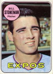 1969 Topps Baseball Cards      067      Bill Stoneman