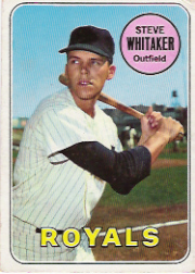 1969 Topps Baseball Cards      071      Steve Whitaker