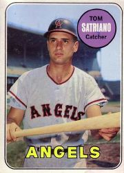 1969 Topps Baseball Cards      078      Tom Satriano