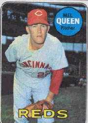 1969 Topps Baseball Cards      081      Mel Queen