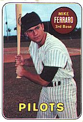 1969 Topps Baseball Cards      083      Mike Ferraro