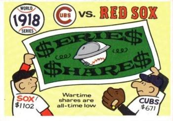 1970 Fleer World Series 015      1918 Red Sox/Cubs