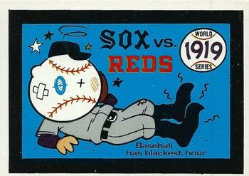 1970 Fleer World Series 016      1919 Reds/White Sox