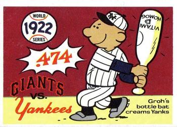 1970 Fleer World Series 019      1922 Giants/Yankees