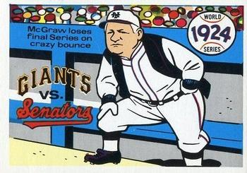 1970 Fleer World Series 021      1924 Senators/Giants#{(John McGraw)