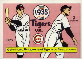 1970 Fleer World Series 032      1935 Tigers/Cubs#{(Charlie Gehringer#{and Tommy Br
