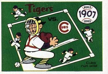 1970 Fleer World Series 004       1907 Cubs/Tigers