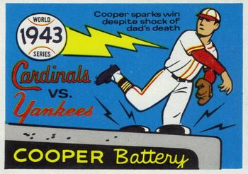 1970 Fleer World Series 040      1943 Yankees/Cardinals