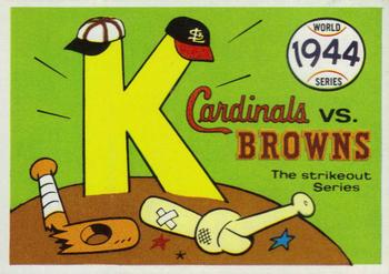 1970 Fleer World Series 041      1944 Cardinals/Browns