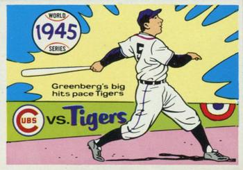 1970 Fleer World Series 042      1945 Tigers/Cubs#{(Hank Greenberg)