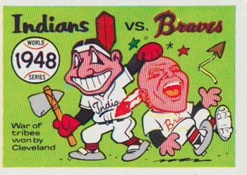 1970 Fleer World Series 045      1948 Indians/Braves