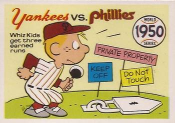 1970 Fleer World Series 047      1950 Yankees/Phillies