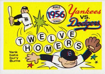 1970 Fleer World Series 053      1956 Yankees/Dodgers