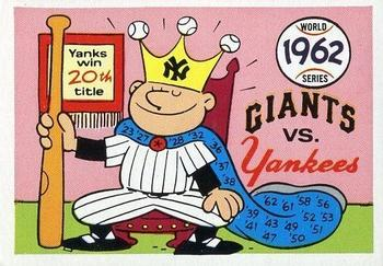 1970 Fleer World Series 059      1962 Yankees/Giants