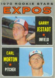 1970 Topps Baseball Cards      109     Rookie Stars-Garry Jestadt RC-Carl Morton