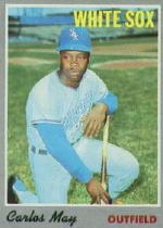 1970 Topps Baseball Cards      018      Carlos May