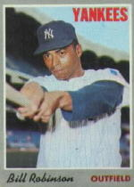 1970 Topps Baseball Cards      023      Bill Robinson