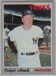 1970 Topps Baseball Cards      273     Ralph Houk MG