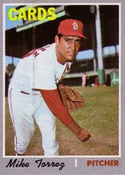 1970 Topps Baseball Cards      312     Mike Torrez