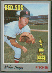 1970 Topps Baseball Cards      039      Mike Nagy RC