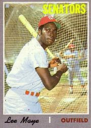 1970 Topps Baseball Cards      439     Lee Maye