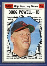 1970 Topps Baseball Cards      451     Boog Powell AS