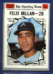1970 Topps Baseball Cards      452     Felix Millan AS