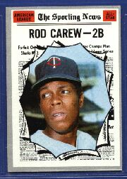 1970 Topps Baseball Cards      453     Rod Carew AS